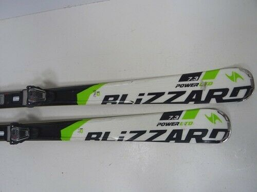 Ski Blizzard Power LTD 7.3 mit Bindung, Bindung, Bindung, 167cm (EE1152) 204dbe