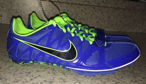 6 Nike Shoes Blue Sprint Rival Track 10 Zoom Green S New Lime 5 Spikes Mens qBTU4Bt