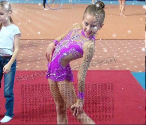 Gimnasia  Rítmica Gimnasia, látigos competencia batuta Baile Vestido RG Personalizado  Envío y cambio gratis.