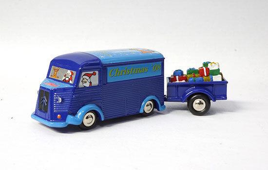 450592400 - Schuco Citroen H remorque Christmas 2008 (05924) - 1 90 (Piccolo)