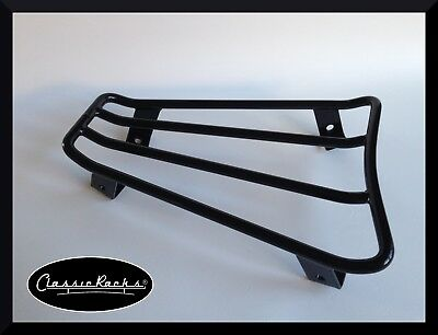 VESPA GTS GTV GT floor board rack luggage carrier SATIN BLACK Classic Racks