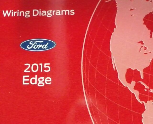 2015 Ford Edge Electrical Wiring Diagrams Diagram Service