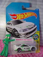 CUSTOM '01 ACURA INTEGRA GSR #31✰white;green;TEIN;j5✰Speed✰2017 i Hot Wheels B/C