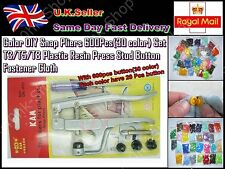Color Snap Pliers 600 Set T3/5/8 Plastic Resin Press Stud Button Fastener Cloth