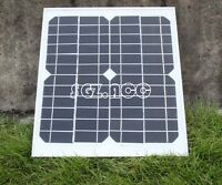 10 W MONOCRYSTALLINE SOLAR PANEL 10 WATTS BATTERY CHARGER 12V PV-with 3M CABLE