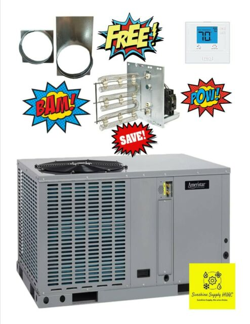 Rheem 20 Ton Commercial Ac Cooling Package Unit On Trailer 6x14