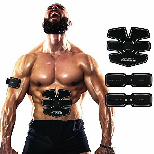 Abdominal Muscle Trainer Ab Toning Belt, Muscle Toner Toning Belt Ab Belts Core