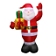thumbnail 4 - 1-5m-Christmas-Inflatable-Santa-Claus-LED-Air-Blown-Yard-Garden-Outdoor-Decor-US