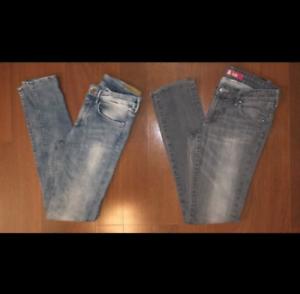 Bundle of 2 Women's H&M Skinny Jeans Size 29 Free Ship