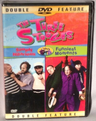 1 of 1 - DVD THE THREE STOOGES Simply Hilarious/Funniest Moments NEW MINT SEALED
