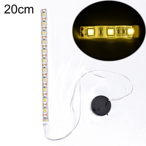 1Pc x LED Strip light DC 5V LED lighting 5050 SMD LED lamp Tape Battery box CYU