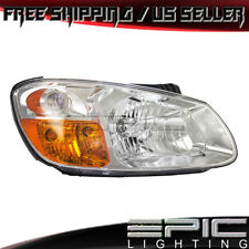 Fits 2007-09 KIA Spectra LX EX SX 4-Door Sedan Left Right Side Pair Headlights