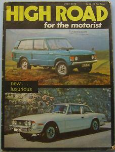 High-Road-Jul-1970-Triumph-Stag-Range-Rover-Austin-Maxi-M62-construction