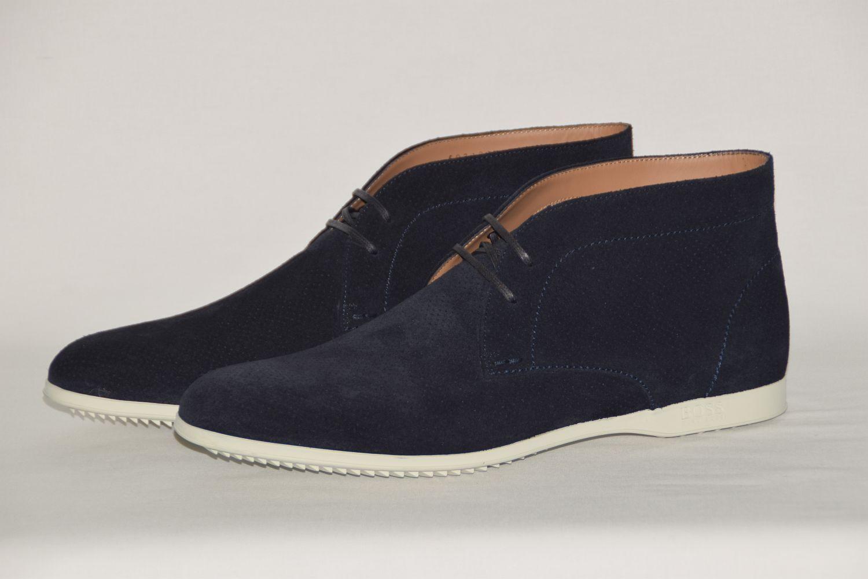 Hugo BOSS boots, Tg. 42//US 9, ITALY, UVP: , MADE IN ITALY, 9, DARK BLUE b3443d