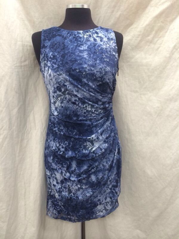 ADRIANNA PAPELL DRESS LINED NEW WITH TAG RETAL 8  LENGTH 38'