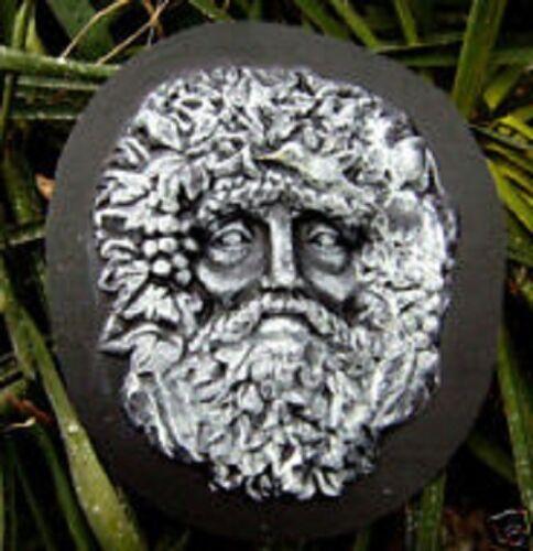 abs plastic grapeman green man garden face mold mould