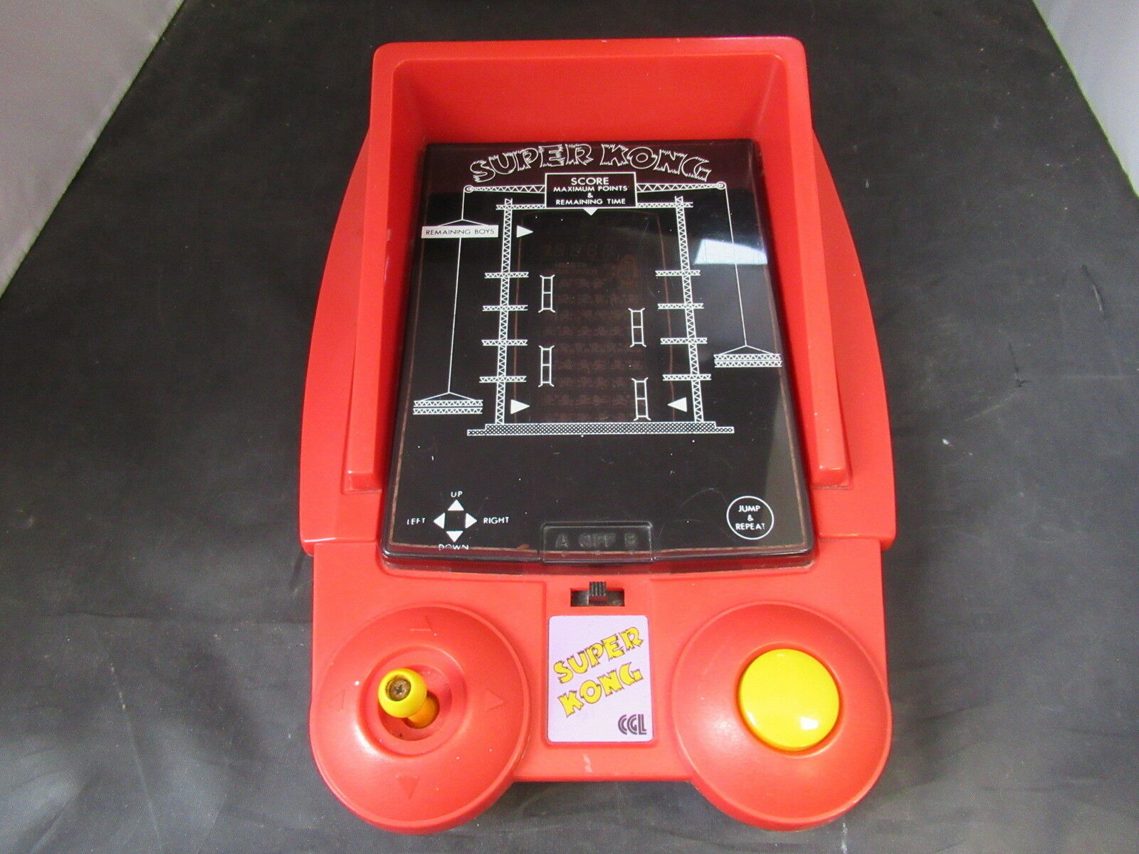 CGL CGL CGL Super Kong Tabletop Electronic Game - Works but See Description f3d3da