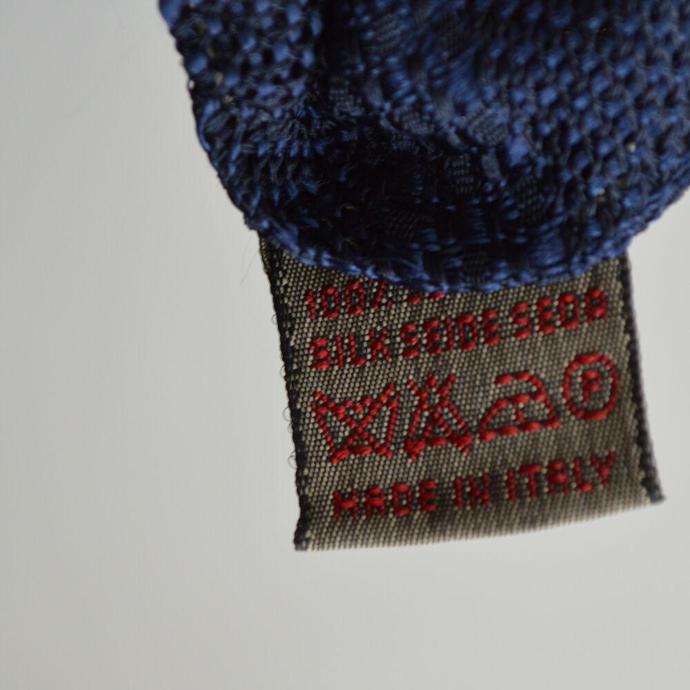 NEU ANSELMO DIONISIO marineblau gepunktet Seidenkrawatte - echt       | Verrückter Preis, Birmingham  185142