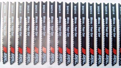 """Skil 94214 2-3//4/"""" x 14 TPI Metal Fast Cut Jig Saw Blades 30PCS"""