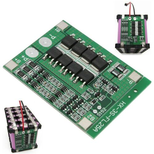 BMS 3S 25A Li-Ion LiPo Battery 18650 Charger Protection Board 12,6V  Balancer