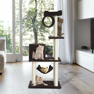 55-034-Cat-Tree-Kitty-Furniture-Toys-Condos-Scratching-Posts-Cat-House-Pet-Supply