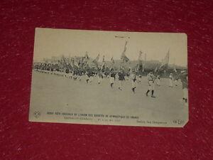 Coll-J-DOMARD-SPORTS-XXXIIIe-FETE-FEDERALE-GYMNASTIQUE-1907-CLERMONT-FERRAND