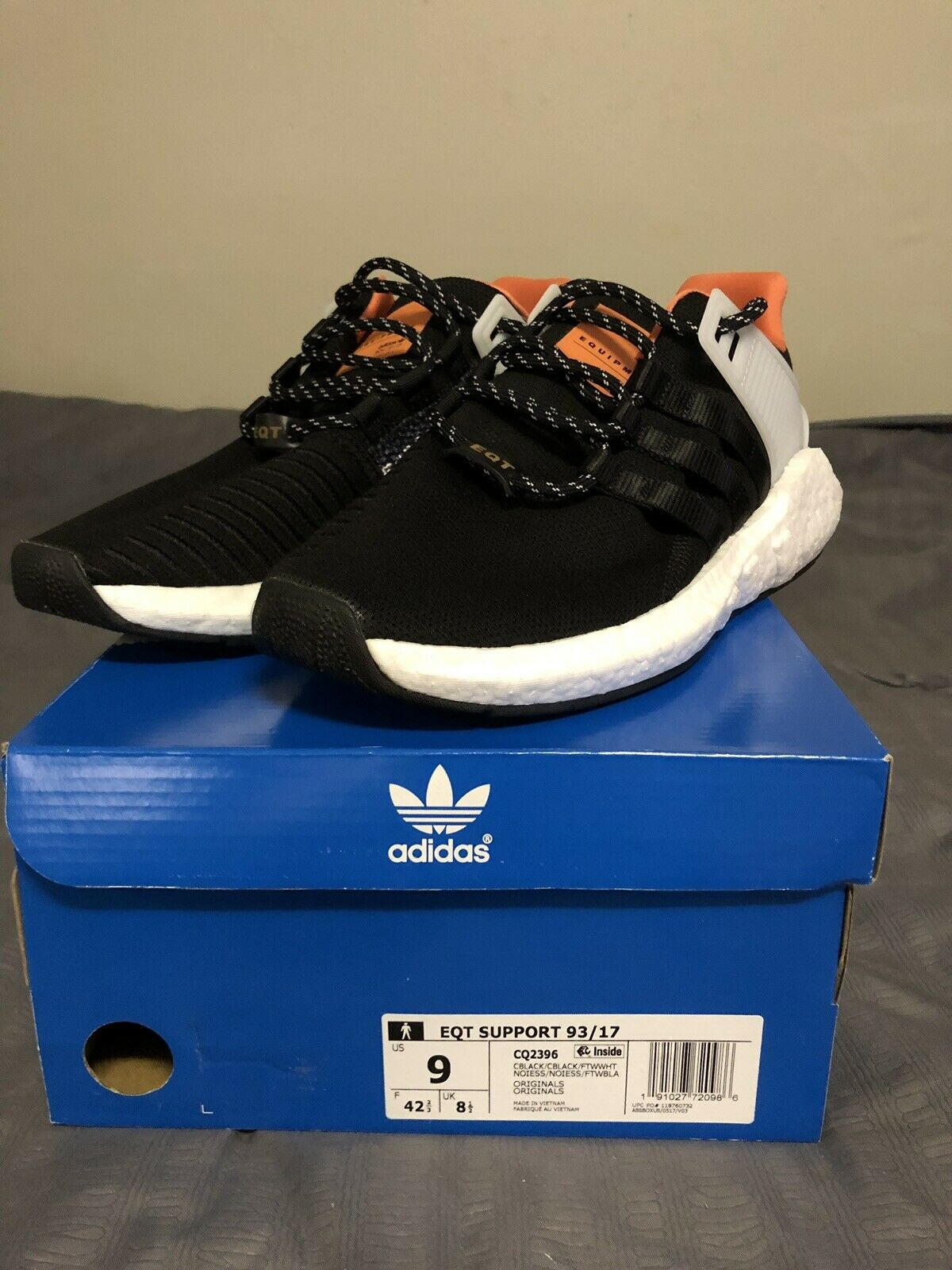 Adidas EQT Support 93 17 Brand New Men's Sneakers Size 9