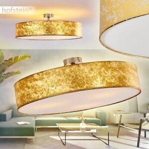 runde Flur Wohn Schlaf Zimmer Lampen Retro Design Decken Beleuchtung weiß//Silber