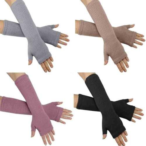 hsa1 caripe Armstulpen Stulpen Feinstick Handstulpen lang Handschuhe fingerlos