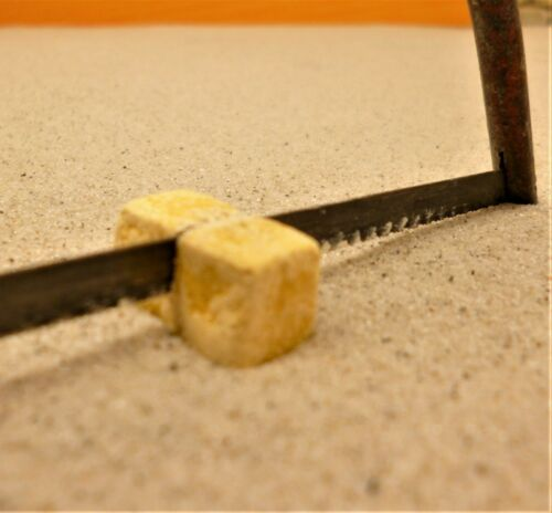 rottöne 100St Krippenzubehör Ruinenbausteine versch Krippenbau 20x10x10mm