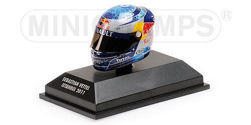 Minichamps Arai Casco Casco Sebastian Vettel Istanbul Gp 2011, 1:8 Formula 1