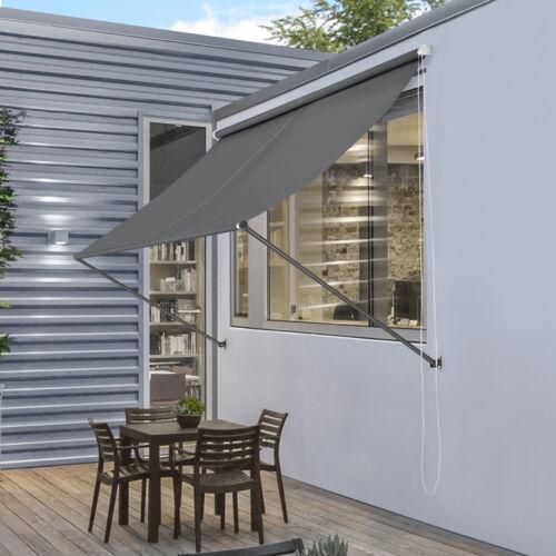 pro.tec® Markise Sonnenschutz Beschattung Terrasse Garten Windschutz Außen Rollo