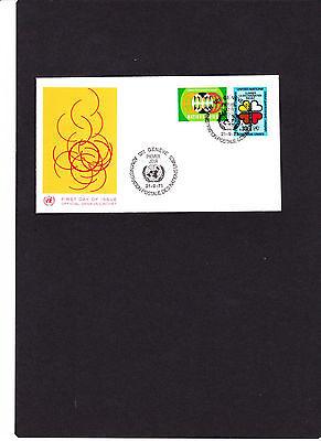 """Siehe Scan Reine WeißE Uno Genf Fdc """" Rassendiskriminierung 21.09.1971 """" Aus Abo-lieferung Briefmarken"""