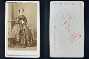 Disdéri, Paris, Princesse Murat Vintage cdv albumen print.Princesse Joachim Mu