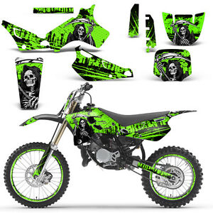 YAMAHA IT MX FRONT NUMBER SHROUD PLATE DECAL GRAPHIC