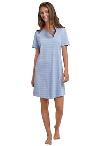 SCHIESSER Damen Nachthemd 90 cm Sleepshirt Kurzarm 36 38 40 42 44 46 48