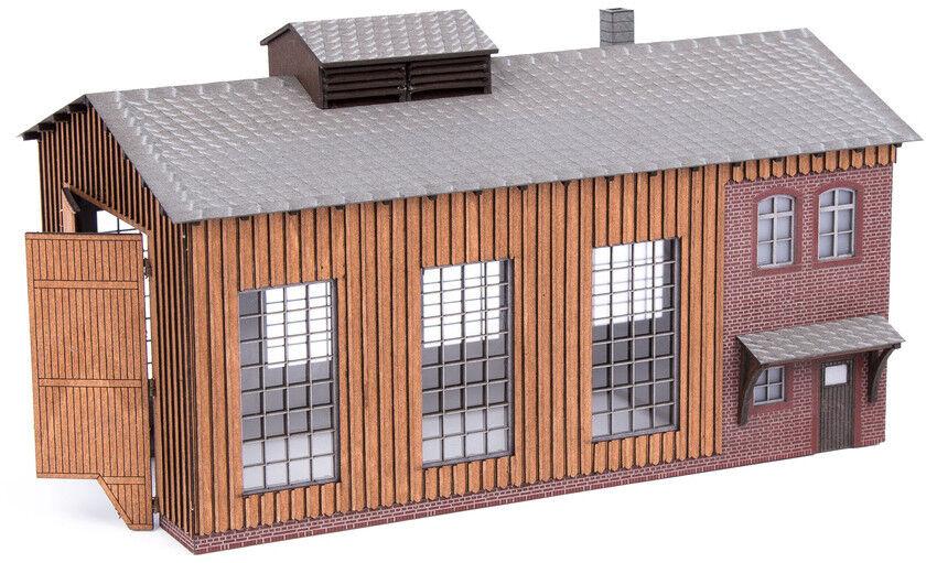 Noch 66201 Kit di Costruzione Piccolo Rimessa per locomotive con Micro MOTO