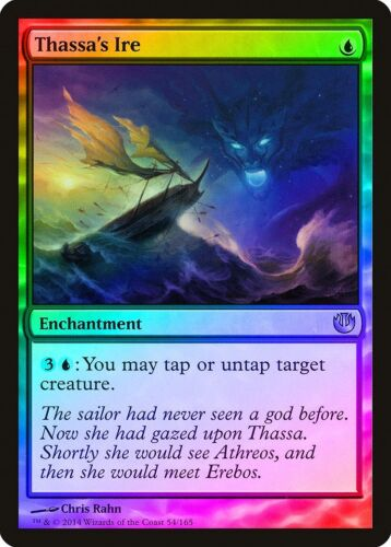Thassa/'s Ire FOIL Journey into Nyx NM Blue Uncommon MAGIC MTG CARD ABUGames