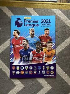 Panini Premier League Football 2021 Official Sticker Album BN Lockdown WC Euro