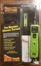 Power Probe III Circuit Tester & Voltmeter Clamshell, Green #PP3CSGRN