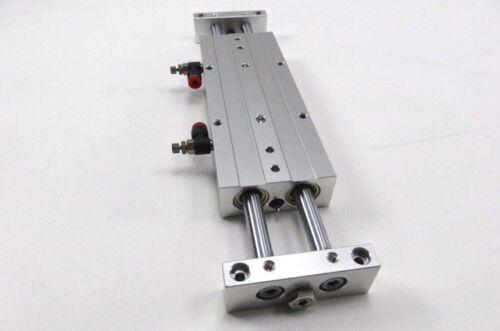 Ball Bearing CXW Guided Cylinder SMC CXWL16-75 Slide