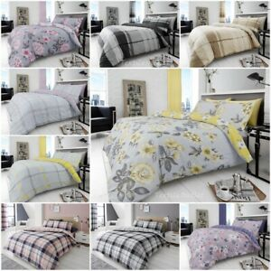 4Pc-Reversible-Duvet-Cover-with-Pillowcase-and-Fitted-Sheet-Bedding-Set-All-Size