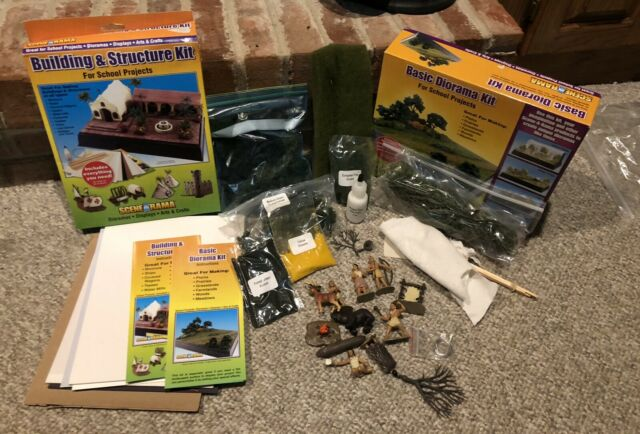 Basic Diorama and Building & Structures Kit