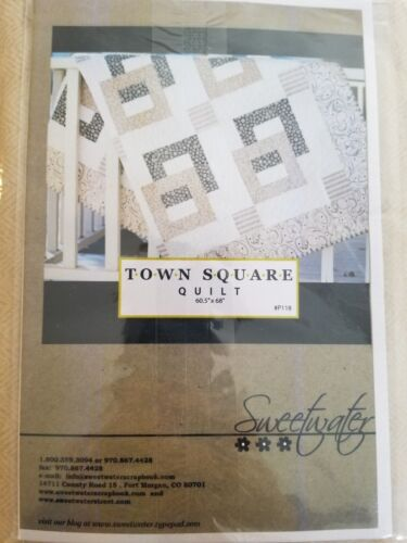 "Softer Side of Modern Flannel Quilting Kit by Sweetwater 60.5"" x 68"""