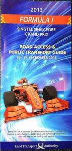 F1-Singapore-Road-Access-amp-Public-Transport-Guide-Formula-One-Race-2013