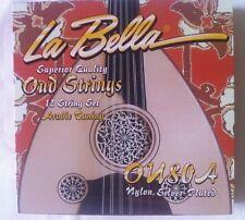 La Bella OU80A LaBella Oud Strings Set, Oud Strings set Arabic Tuning.