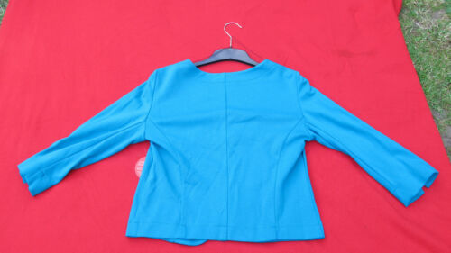 turquoise elleboogpatch 100 met katoen Barclay Teal Betty sweaterjas a1Ifx