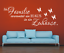 X4525-Wandtattoo-Spruch-Die-Familie-Haus-Zuhause-Sticker-Wandaufkleber-Aufkleber Indexbild 2