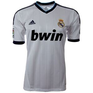 buy popular b3815 56043 Details about Authentic Jersey Shirt Trikot Maillot Camiseta Maglia Real  Madrid 2012-2013 Home