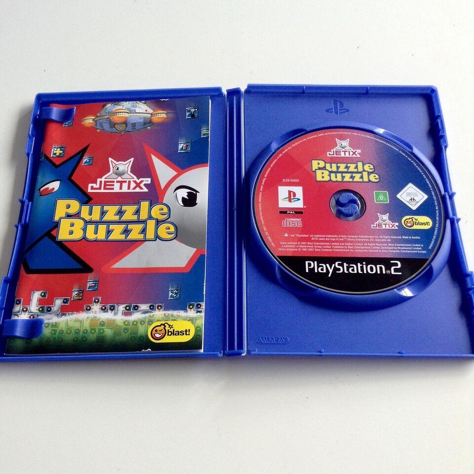 Jetix Puzzle Buzzle, PS2, puzzle